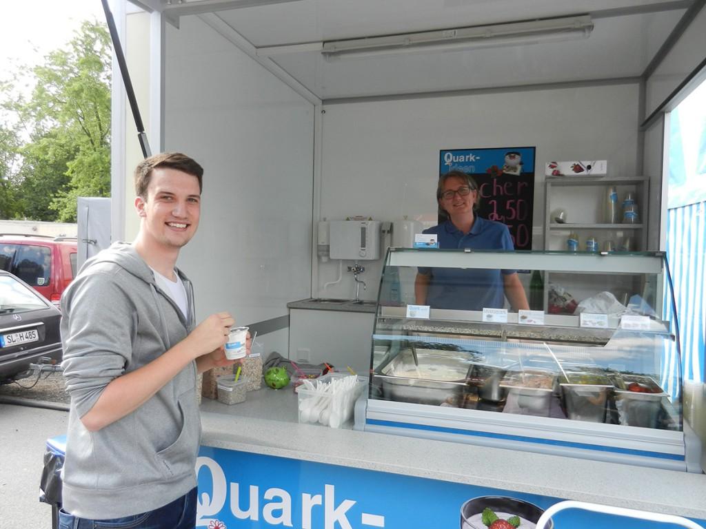 Quark Ideen zu Gast beim Vogelschießen in Bad Oldesloe